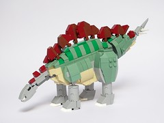 LEGO Stegosaurus (LuisPG2015) Tags: stegosaurus dinosaur lego