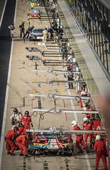 Pit race (sidewaysbob) Tags: wec silverstone racing race rebellion cars sportscars summer endurance england ferrari ford fia aco astonmartin radio le mans bmw porsche pits