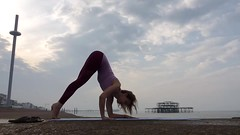 Uneven forearm balances (stankayoga) Tags: yoga stankayoga stanka sivananda sivanandayoga londonyogateacher yogateacher advancedyoga advancedasana hathayoga poweryoga dharmayoga yogaflow inversion brighton morning