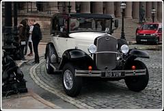 Wedding Car (zweiblumen) Tags: bigvow wedding car replica ford liverpool merseyside england uk canoneos50d polariser zweiblumen barringtons