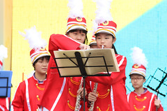IMGL4003 (taticoma) Tags: brassband brass music musician child china red school teenage