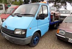 1987 FORD TRANSIT 2000cc 190 E845JOW (Midlands Vehicle Photographer.) Tags: 1987 ford transit 2000cc 190 e845jow