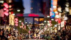 AwaOdori parade (turntable00000) Tags: extrabokeh awaodori dance parade festival mitaka tokyo japan bokeh evening lantern