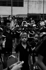 Last day of school 2017-2018. Chatsworth International School, Singapore, June 2018 (darcymillervisuals) Tags: event photography a6500 street boy bw 1670mm f4 70mm 1400 portrait candid black white chatsworth audience international school