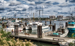 Fisherman's Wharf (johnscratchley) Tags: landscapehdr harbour fishermanswharf vancouverisland victoria urban cities