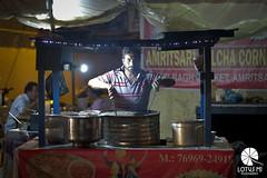 Food Stall Man (Lotus Mi) Tags: india people night xpro2 xf56mmf12r light food stall trip journey travel fuji fujifilm street