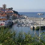 Le port de plaisance, Bermeo, comarque de Busturialdea, Biscaye, Pays basque, Espagne. thumbnail