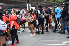 DSC_6959 Notting Hill Caribbean Carnival London Tropical Fusion Charming Femal Marshal Girl Aug 27 2018 Stunning Ladies (photographer695) Tags: notting hill caribbean carnival london girls aug 27 2018 stunning ladies tropical fusion charming femal marshal girl