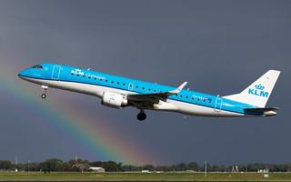 PH-EZI KLM Cityhopper Embraer ERJ-190STD (ERJ-190-100) ln 19000322