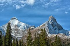 Pointy Peaks (Philip Kuntz) Tags: mtathabasca hildapeak columbiaicefield icefieldsparkway jasper jaspernationalpark canadianrockies alberta canada