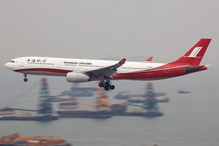 Shanghai Airlines | Airbus | A330-343 | B-6097