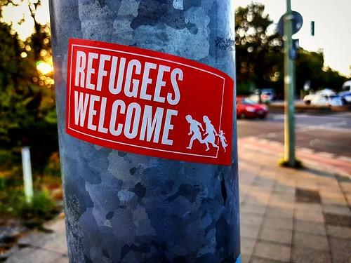 #FCKNZS #FCKAFD #RefugeesWelcome