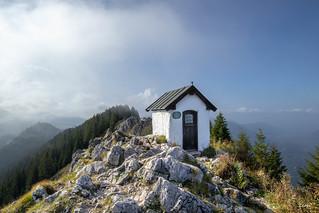 Brünnstein (1619 m)  ++ Mist is rising ++  Nebel ziehen auf ++