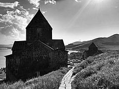 Sevanavanq Monastery, 9th century | Armenia (maryduniants) Tags: sevanavanqmonastery 9thcentury monastery clouds sunlight armenianapostolicchurch apostolic blackandwhite ancient old white black lakesevan lake sevanavanq church sevan armenia