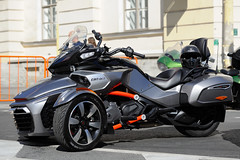 Can-Am Spyder F3i (dmitrytsaritsyn) Tags: nikonafs70200mmf28gedvrii motorcyclephotography motorcycles stpetersburg russia outdoor nikon d3s harleydays canam motorbikes photography 70200mm