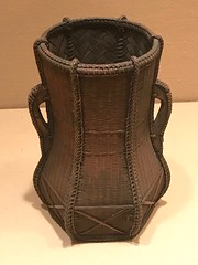 Flower Basket (Hanakago)_Period-Meiji period (1868–1912)_Date-second half of the 19th century_Timber bamboo and rattan (Hiero_C) Tags: metropolitanmuseum japaneseart japan bamboo basket