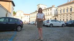 Pavia - Piazza Collegio Ghislieri (Alessia Cross) Tags: crossdresser tgirl transgender transvestite travestito