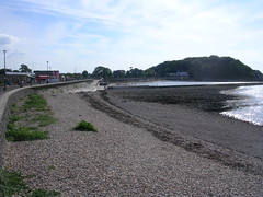 DSCN6045 (southglosguytwo) Tags: 2018 clevedon clouds coast northsomerset september sky water beach buildings sea
