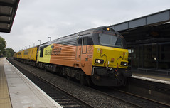 67027 (Lucas31 Transport Photography) Tags: trains railway colas class67 67027 tamworth
