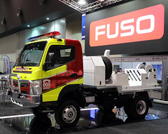 Fuso Quik Corp (adelaidefire) Tags: australasian fire emergency service authorities council 2018 powered by interschutz perth west western australia convention centre conference exhibition afac2018 afac fuso quik corp