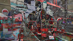 BaikalReise 75q (wos---art) Tags: bildschichtung russland transsibirische eisenbahn historisch ausgemustert stillgelegt schrottplatz ausgestellt präsentiert maschinengeschichte