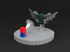 Abstraction #2 (Grantmasters) Tags: vulture spiderman marvel micro lego moc