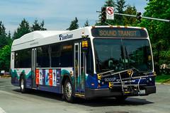ST 9205 (Juan_M._Sanchez) Tags: bus route st sound transit seattle washington gillig hybrid brt