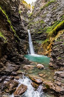 Cascade de la Lance / Saltant de la Lance / Cascada de la Lance / Lance waterfall