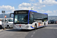 ATAF, Firenze 55395, FM879HX. (EYBusman) Tags: ataf fierenze florence municpal bus coach city centre david michel angelo mercedes benz citaro daimler italy fm879hx eybusman