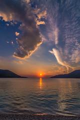 A magical sunset (Vagelis Pikoulas) Tags: sun sunset porto germeno greece tokina 1628mm view landscape sea seascape sky skyscape clouds cloudy cloud cloudscape beach september autumn 2018 canon 6d
