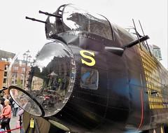 Lancaster B.1 Nose (Grumman G1159) Tags: avrolancaster lancasterb1 nose reproduction lancasterrestorationandfabricationltd r5868 pos sforsugar no467 467squadron raf royalairforce bapc471 raf100 manchester