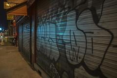 . (Le Cercle Rouge) Tags: paris france night nuit streets darkness light graff graffiti tag flop painters handstyle barbèsrochechouart 75010 lachapelle marché human