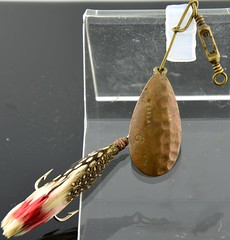 William Delany Fishing Lure (Antique Lures) Tags: canada finandflame fishing history ontario spinner spoon williamdelanyfishinglure
