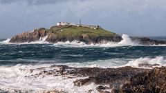 Eagle Island Lighthouse (mickreynolds) Tags: atlantic beacon cliffs comayo erris foam ireland island lighthouse nx500 rocks stormali water wildatlanticway
