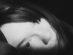 Enthralled (Southern Darlin') Tags: me photography photo portrait selfportrait woman people bw blackandwhite bnw black white monochrome face