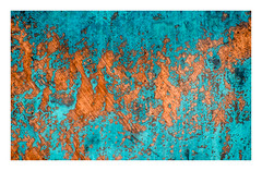 metallic topography (Simon[L]) Tags: abstract texture copper corrosion decay turquoise