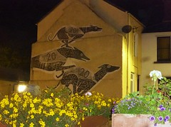 Wigtown Book Festival (Revted94) Tags: wigtown wigtownbookfestival mural greyhounds wigtownbooktown