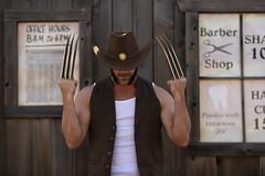 _WOL2420 (Socal Photography) Tags: xmen wolverine logan oldmanlogan patrickking andrewkolstad bts photoshoot nikon captainmarvel marvelcomics mutant marvel stunts stuntman western gambit oldwest cowboy puyallup fair statefair