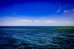 The colours and sea ... (Julie Greg) Tags: folkestone england sea water colours canon nature seascape