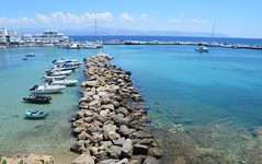 DSC_0371 (JustineChrl) Tags: piso livadi greece island paros holidays summer travel beautiful blue sea egee village nikon hot sun cat