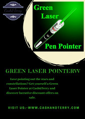 Green Laser Pointer (cashandterryonline) Tags: green laser pointer