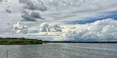 Årslev Engsø, looking west from Søskovvej (Speeesh) Tags: weather water sky clouds lake årslevengsø aarhus denmark danmark