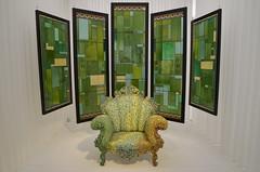 Blue monday (Jam Faz) Tags: blue monday bj atomic te new order museum gent blond chair design