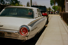 Santa Clara (bior) Tags: santaclara canoneos3 ef50mmf14usm kodakproimage proimage kodakfilm suburbs car auto classic taillight