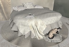 A cozy nest ...... (lisana1) Tags: tmcreation swankevent bed poses menu mesh