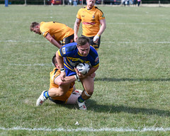 Try coming, another one (Steve Barowik) Tags: yorkshire westyorkshire nikond500 barowik leeds ls26 stevebarowik sbofls26 rugbyleague rl nationalleague 70200mmf28gvrii sport competition try conversion penalty sinbin referee linesman ball pitch sticks posts team watercarrier dx cropframe kick pass offload dropkick forwardpass centre wing prop forward back fullback unlimitedphotos wonderfulworld quantumentanglement oultonraiders skirlaugh nationalconferencedivisionone