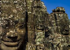 Faces of the Bayon (jacksonb97) Tags: faces bayon cambodia siem reap angkor wat history temple pentax 35mm