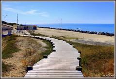 Plage de l'Amélie  SOULAC/MER (Les photos de LN) Tags: amélie soulacmer médoc nouvelleaquitaine gironde sudouest plage beach nature sable paysage promenade chemin rochersrivage océanatlantique