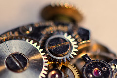 Does anybody really know what time it is? (cheryl.rose83) Tags: watch gears macro macromondays cogwheel
