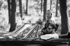 Vintage :: Beauty (Photo Oleo) Tags: toronto highpark tradition traditionalcostume ukranian heritage candid cultural costume parade 2018 portrait car vintagecar convertable convertible